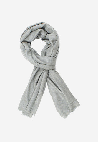 Cashmere Solid Grey Scarf