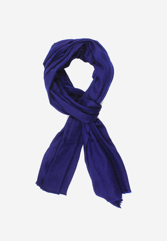 Wool Plain Navy