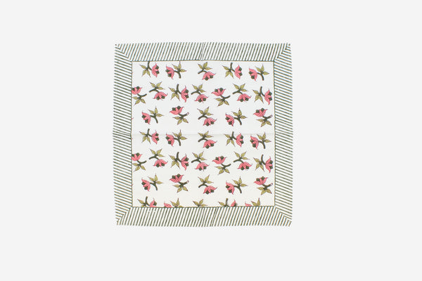 Tea Towel pink all over flowers