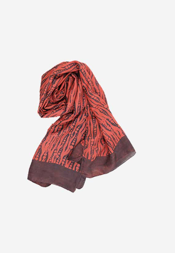 Silk Natural Dyes Dabu Red