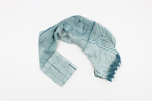 Blue Sea Shibori New