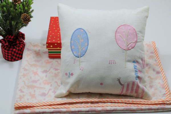 Gift set -Baby Blanket and Pillow