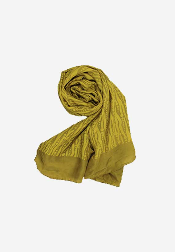 Silk Natural Dyes Dabu Yellow
