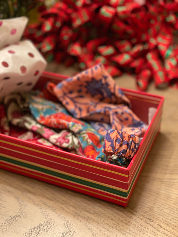 Gift Box: Hand-Block Print Cotton Head Bands