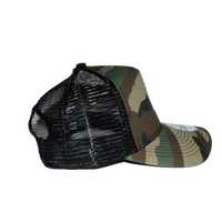REIGNX Trucker Hat Camo Side