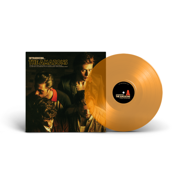 The Amazons - Introducing...The Amazons (Limited Edition Translucent Orange)