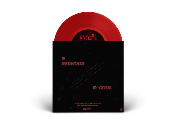 "Ultra Q - Redwoood/Gool 7"" Single (Ultra Red Edition)"