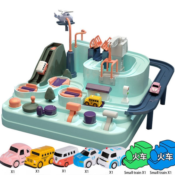 Children's Educational Toy - Adventure Car Track