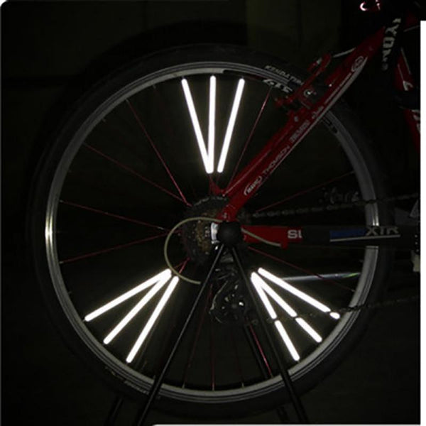Premium Bicycle Wheel Spoke Reflector – Fits All Standard Spoked Wheels