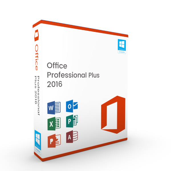 Microsoft Office Professional Plus 2016 Windows