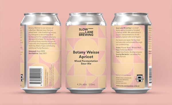 Botany Weisse Apricot - Mixed Fermentation Sour Ale