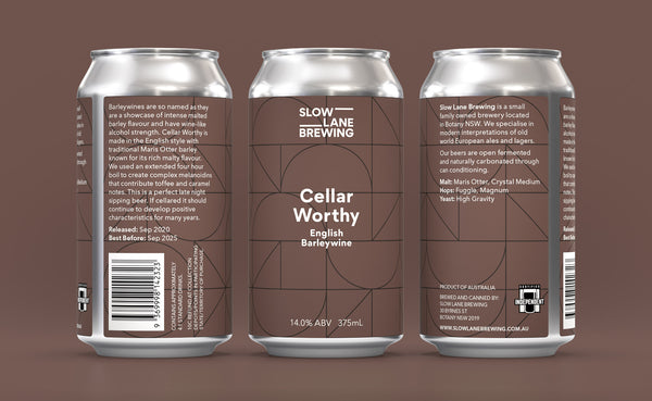 Cellar Worthy - English Barleywine