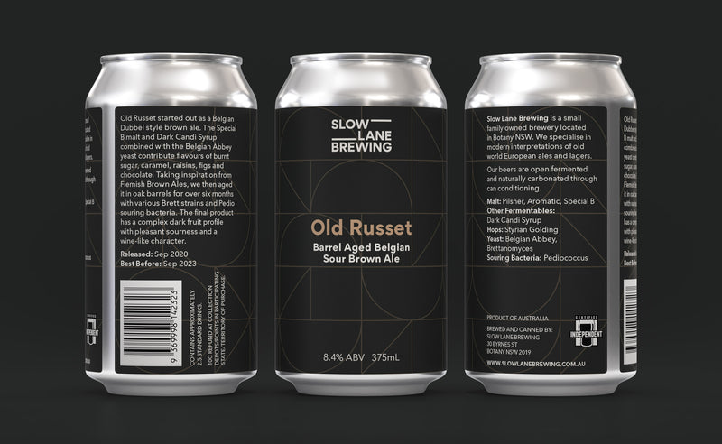 Old Russet - Barrel Aged Belgian Sour Brown Ale
