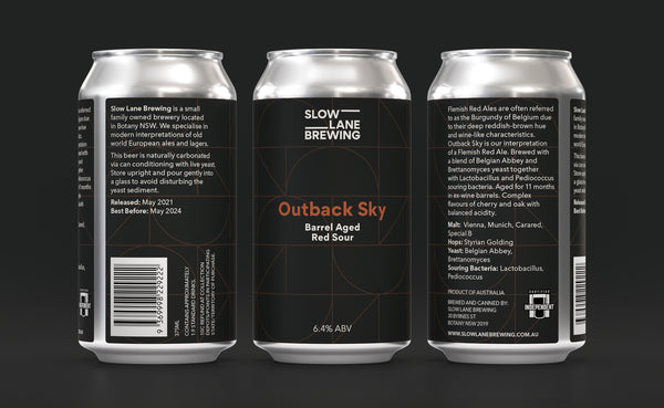 Outback Sky - Barrel Aged Red Sour