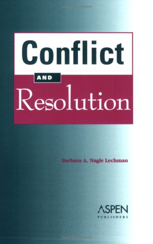 Conflict And Resolution With Other