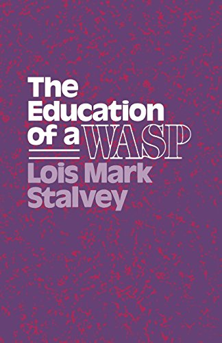 The Education Of A Wasp (Wisconsin Studies In American Autobiography)