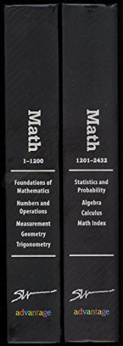 Southwestern Advantage Math 1 & 2 (2 Volumes)