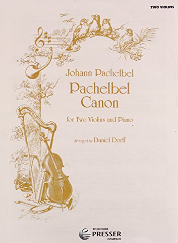Pachelbel Canon, 2 Violins And Piano