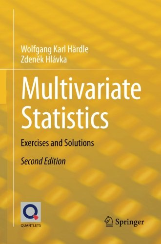 Multivariate Statistics: Exercises And Solutions