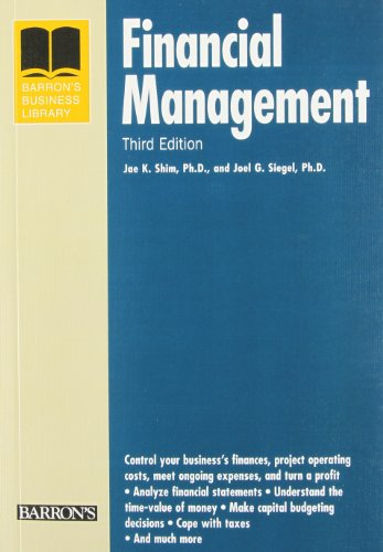 Financial Management (Barron'S Business Library Series)