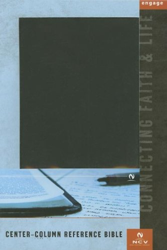 The Holy Bible: New Century Version, Black, Bonded Leather, Center Column Reference