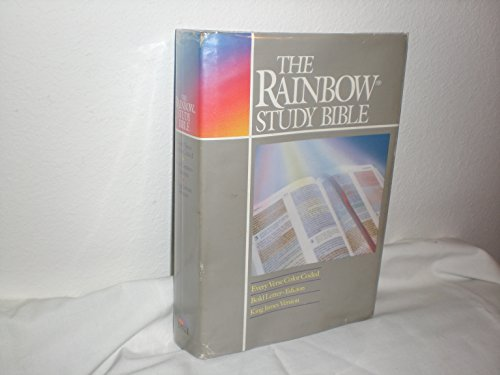 Rainbow Study Bible King James Version