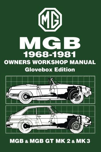 Mgb Glove Box 1968-81 Workshop Manual