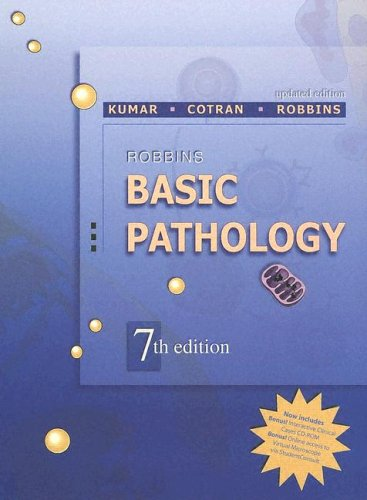 Robbins Basic Pathology Updated Edition: With Student Consult Online Access, 7E (Robbins Pathology)