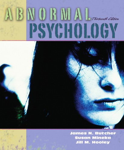 Abnormal Psychology (13Th Edition)