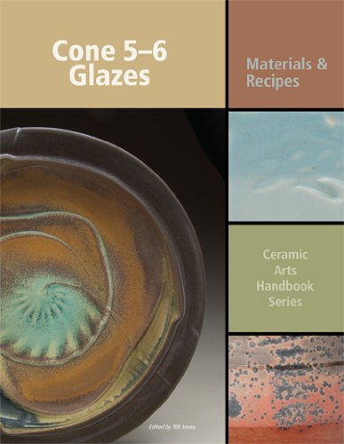 Cone 5-6 Glazes: Materials And Recipes (Ceramic Arts Handbook)