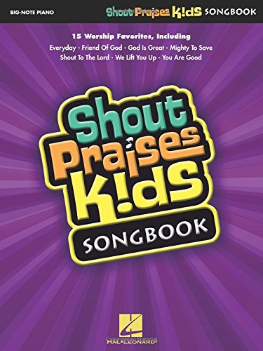 Shout Praises Kids Songbook (Big-Note Piano)