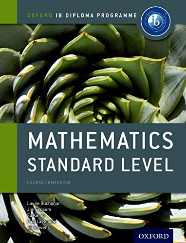 Ib Mathematics Standard Level (Oxford Ib Diploma Programme)
