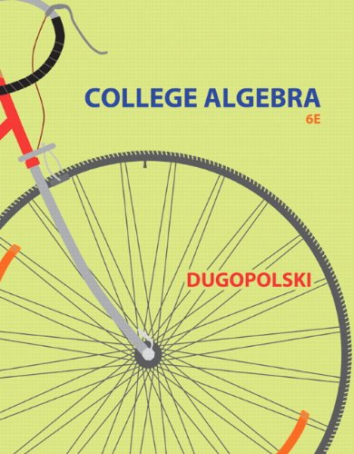 College Algebra (6Th Edition)