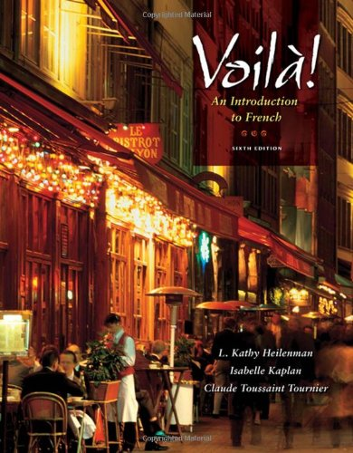 Voila!: An Introduction To French (With Audio Cd) (World Languages)