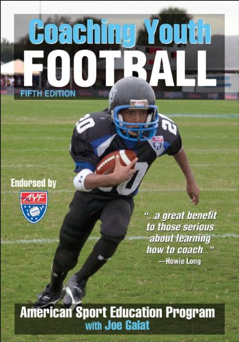 Coaching Youth Football - 5Th Edition (Coaching Youth Sports)