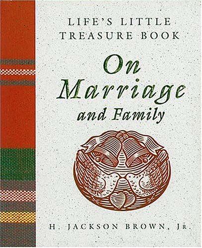 Life'S Little Treasure Book On Marriage (Life'S Little Treasure Books (Mini))
