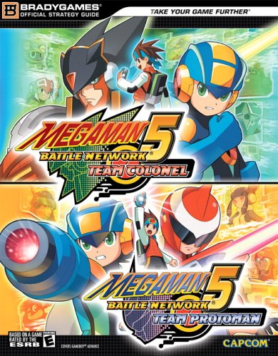 Mega Man Battle Network 5: Official Strategy Guide (Bradygames)