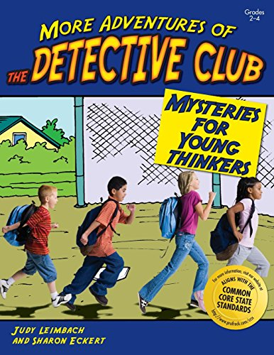 More Adventures Of The Detective Club
