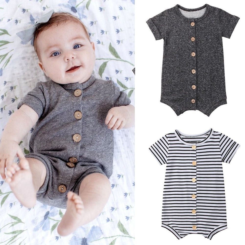 Button Down Onesie | Free Shipping Over $50