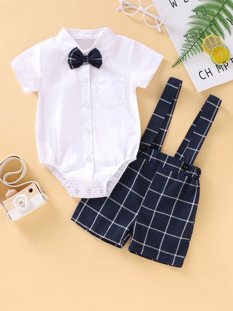 Bow Tie Shirt and Shorts Outfit | Free Shipping Over $50