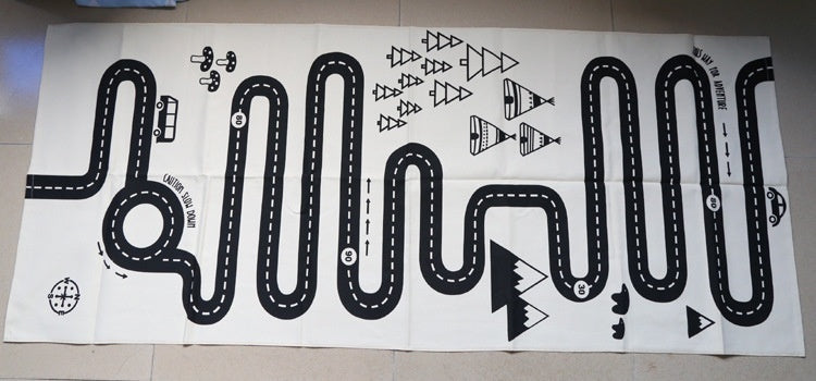 Winding Road Play Mat | Free Shipping Over $50