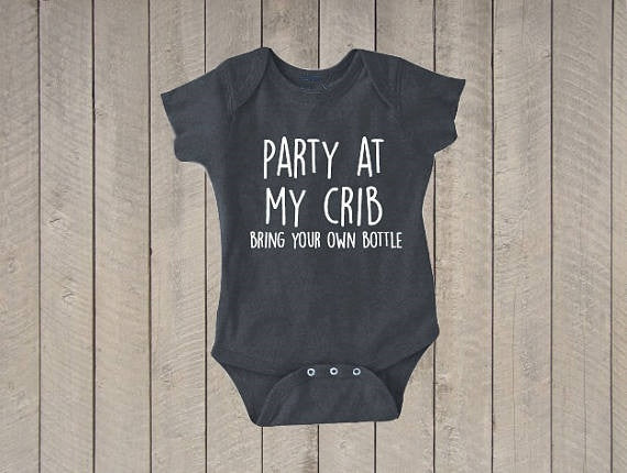 BYOB Crib Party Onesie | Free Shipping Over $50