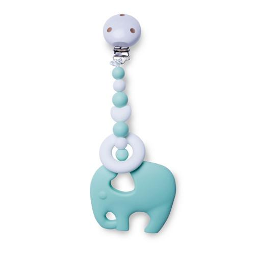 Clipable Elephant Teething Toy | Free Shipping Over $50
