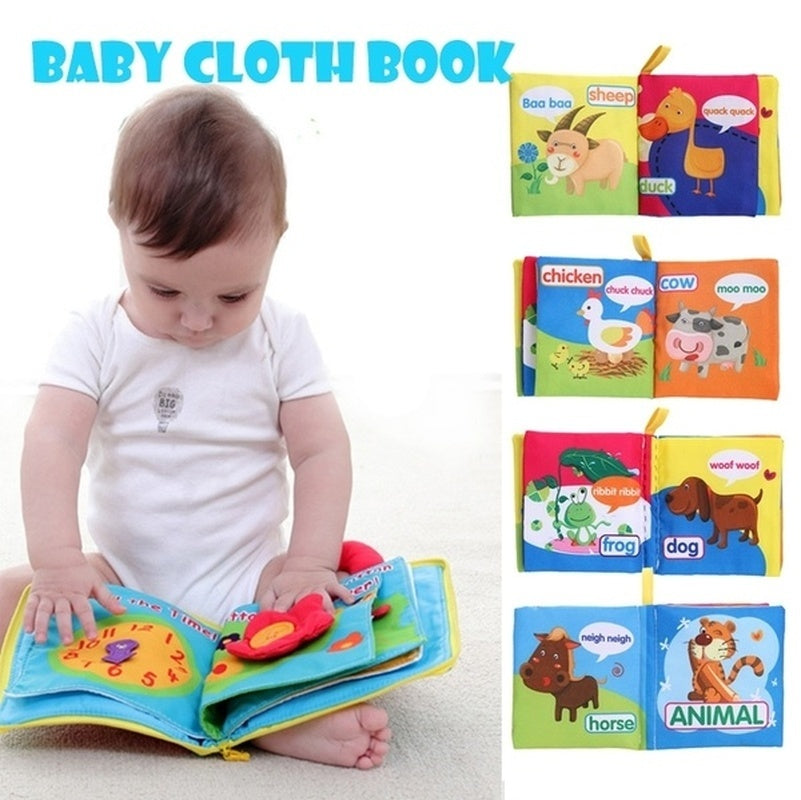 Newborn Cloth Book | Free Shipping Over $50