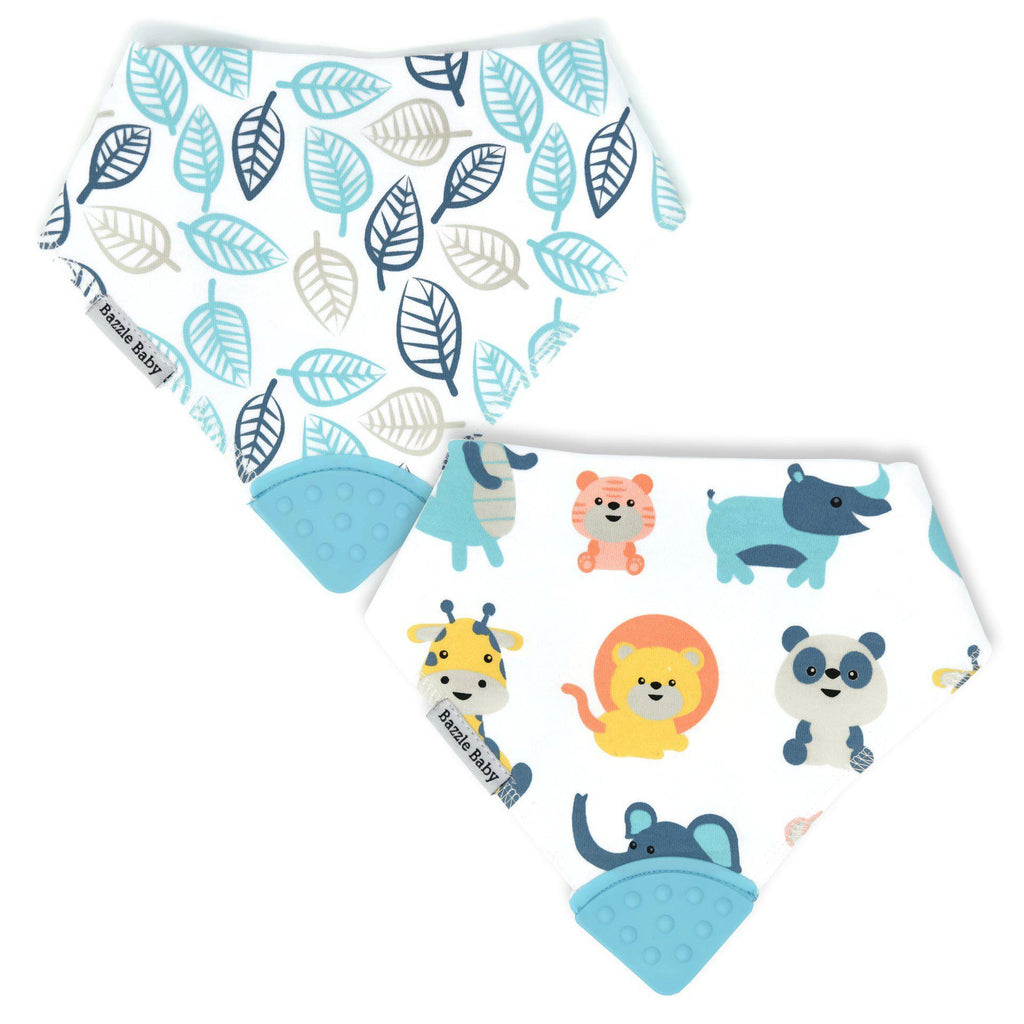 Trip to the Zoo Banda Bib Teether 2-Pack | Free Shipping Over $50