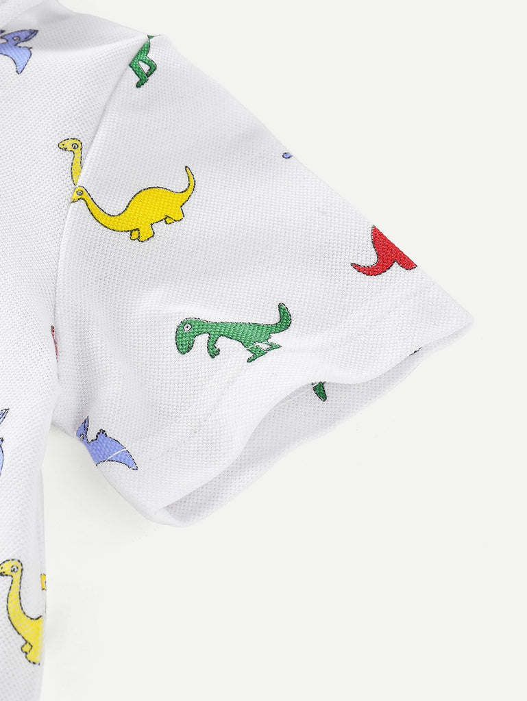 Colorful Dino Polo | Free Shipping Over $50