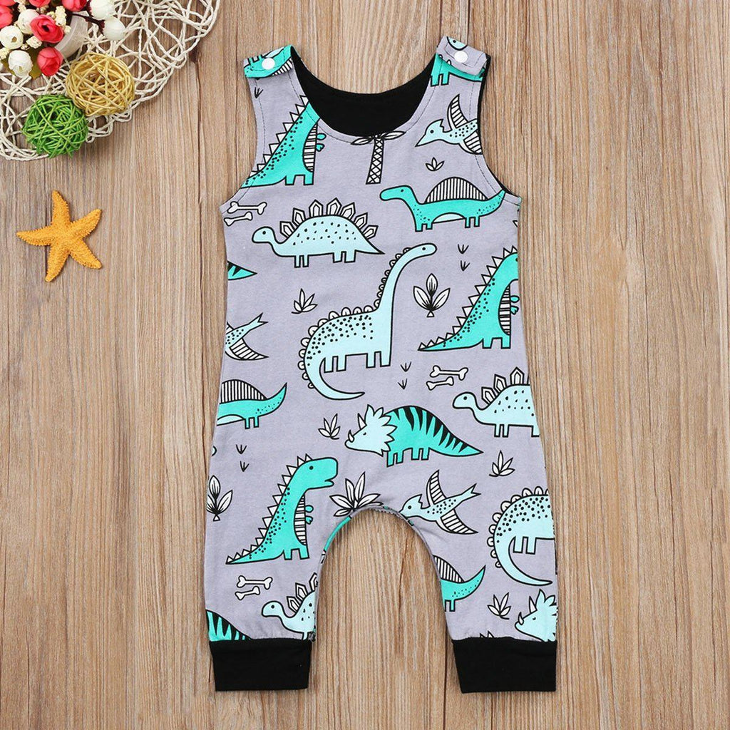Baby Dinosaur Romper | Free Shipping Over $50