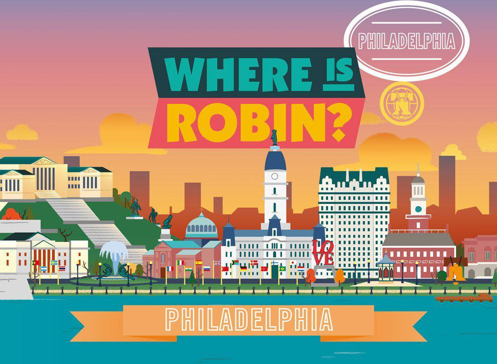 Where is Robin? Philadelphia | Free Shipping Over $50