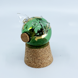 Mini glass pigg EARTH Collection