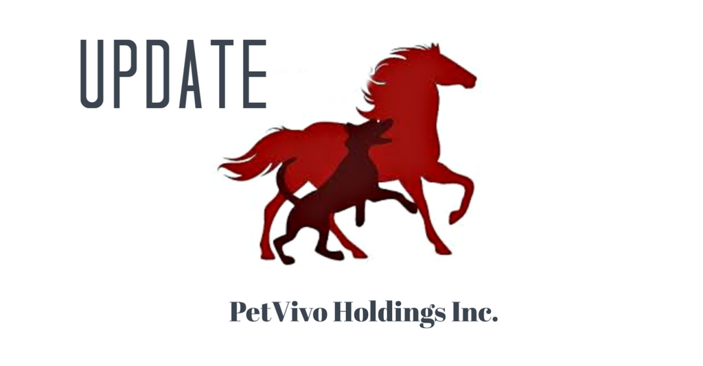 PETVIVO HOLDINGS PROVIDES STAKEHOLDER UPDATE May 13, 2020